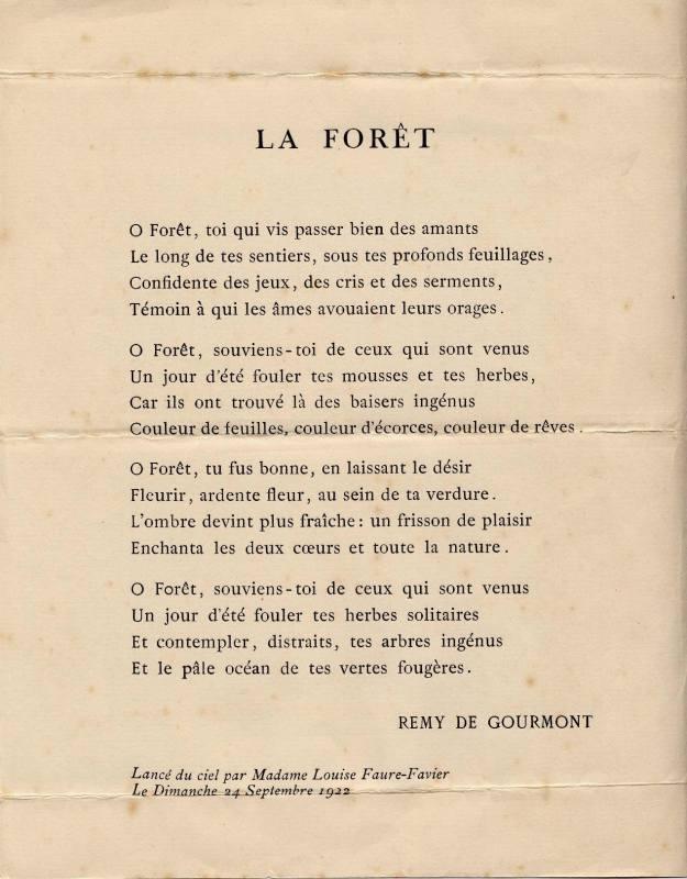 Souvent Poeme Sur La Foret NE65 | Jornalagora OW72